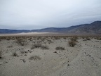 I'll have 3-4 miles of walking up the valley to the Panamint Dunes
