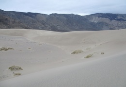 I like this valley-hole in the middle of the Panamint Dunes