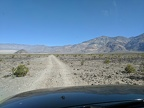 I always enjoy the slow, bumpy 5-mile ride down Panamint Dunes Road