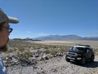 There's a nice campsite here with a view across Panamint Valley to the Argus Range