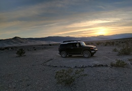Day 2: A relaxing FJ day, driving from Panamint Valley to Eureka Dunes