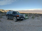 Another beautiful morning begins at my Dedeckera Canyon campsite