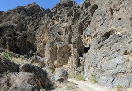 I could spend hours just looking at the rock walls of Dedeckera Canyon...