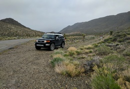 I stop briefly at the road into Harliss-Brody Canyon