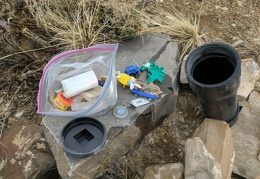 All kinds of quirky stuff in this geocache!
