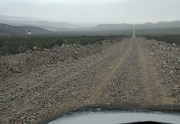 My road to nowhere is heading down toward Saline Valley