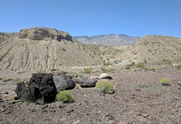 Fun rock contrasts in Waucoba Wash