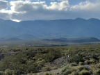 I take a good look across upper Saline Valley toward the Inyo Mountains