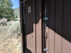 Hmmm.. the Taylor Canyon outhouse is bolted shut