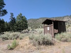 I notice the unmaintained Taylor Canyon outhouse has a sign on it