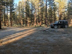 Here's a nice big campsite, quiet and neighbor-free, at least for now