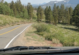 I drive on, noting the relatively smoke-free air beyond Sonora Pass