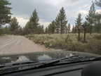Another Inyo National Forest backroads intersection...