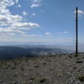 Glass Mountain peak: 11123 feet elevation