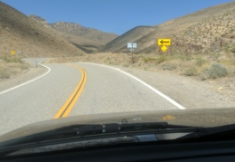 Soon to enter Inyo National Forest...
