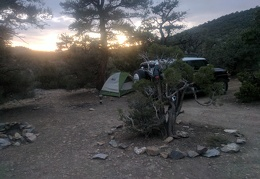I'd like this trip to last longer, but this is my final sunset camp