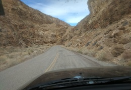 I always enjoy this drive through Devil's Gate in Deadman Canyon