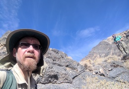 On the hill, I decide not to continue onward to Stewart Peak with the group
