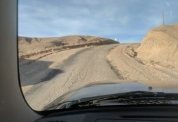 China Ranch Road pops out of the canyon too soon