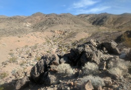 So many canyons in the Grapevine Mountains to choose from