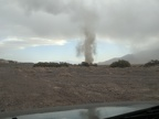 This dust devil is getting bigger