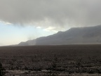 I watch another dust devil twirling against a Panamint Mountains backdrop