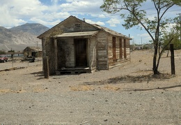 This charming cabin off US 95 in Mina, Nevada awaits a new owner