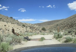 Cattle guard in Rattlesnake Flat