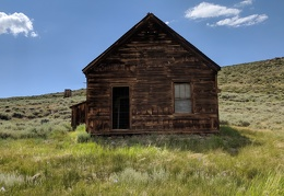 My drive takes me back past Bodie Ghost Town