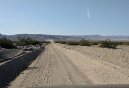 I enter Death Valley Park on Harry Wade Road