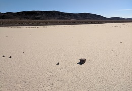 Hmm, I'm not expecting to find a rock track on the playa