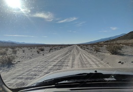 Ah, the washboard of Panamint Dunes Road